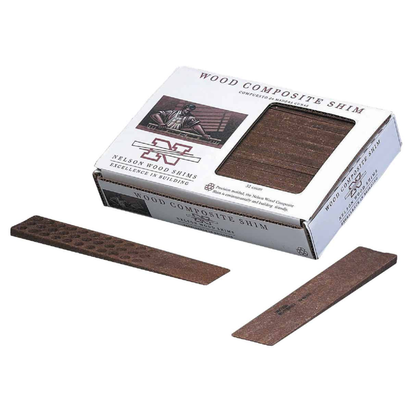 Nelson Wood Shims 8 In. L Wood Fiber Composite Shim (32-Count) Image 1