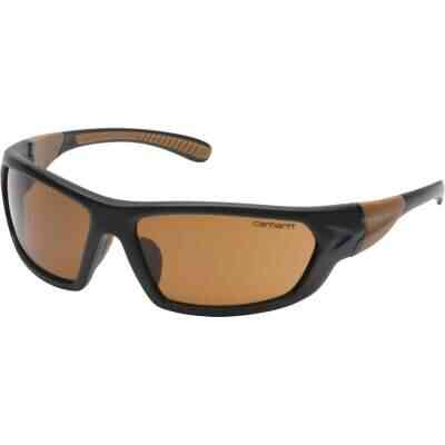 Carhartt Carbondale Black & Tan Frame Safety Glasses with Bronze Lenses