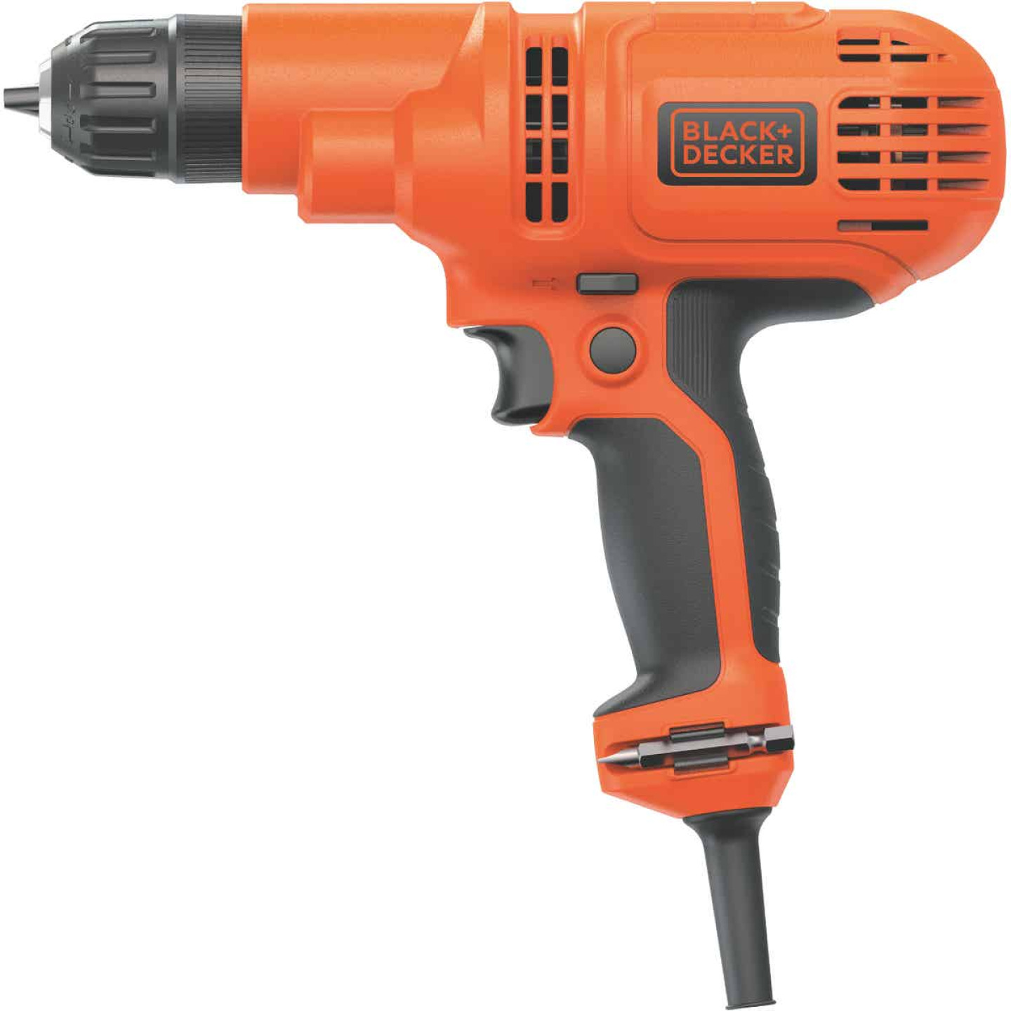 Black & Decker 3/8 In. 5.2-Amp Keyless Electric Drill/Driver Image 6
