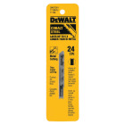 DeWalt U-Shank 3 In. x 24 TPI High Carbon Steel Jig Saw Blade, Metal (5-Pack) Image 2