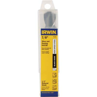 Irwin 7/8 In. Black Oxide Silver & Deming Drill Bit