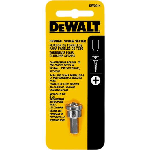 DeWalt #2 Phillips Insert Drywall Dimpler Screw Setter