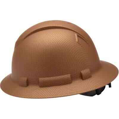 Pyramex Ridgeline Copper Ratcheting Full Brim Hard Hat