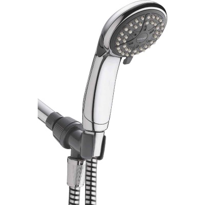 Waterpik EcoFlow 3-Spray 1.6 GPM Handheld Shower, Chrome