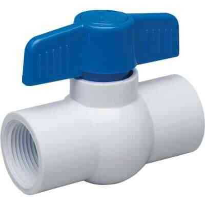 Proline 3/4 In. FIP x 3/4 In. FIP PVC Schedule 40 Quarter Turn Ball Valve, Non-NSF