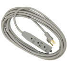 Do it 20 Ft. 16/3 3-Outlet Gray Extension Cord Image 1