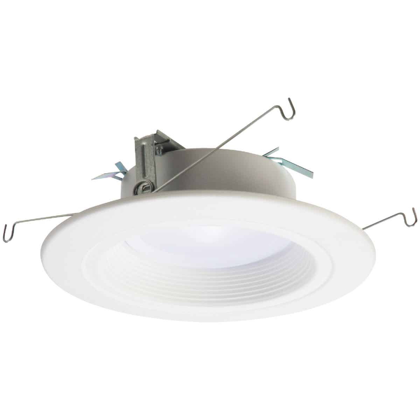 Halo 4 In. Retrofit Baffle Selectable Color Temperature LED Recessed Light Kit, 600 Lm. Image 1
