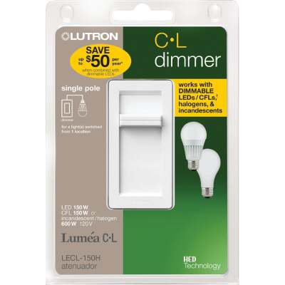 Lutron Lumea CL White 120 VAC Wireless Dimmer