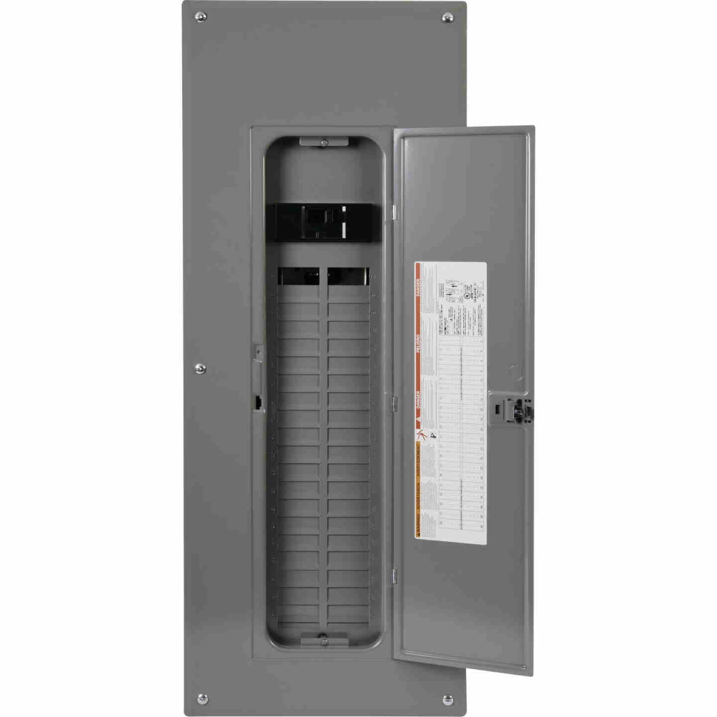Square D Homeline 200A 40-Space 80-Pole Indoor Meter Breaker Panel Image 1
