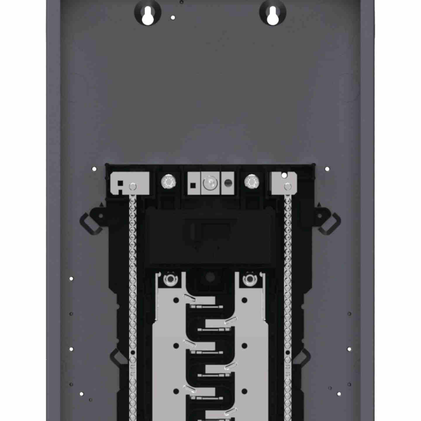Square D Homeline 200A 40-Space 80-Pole Indoor Meter Breaker Panel Image 5