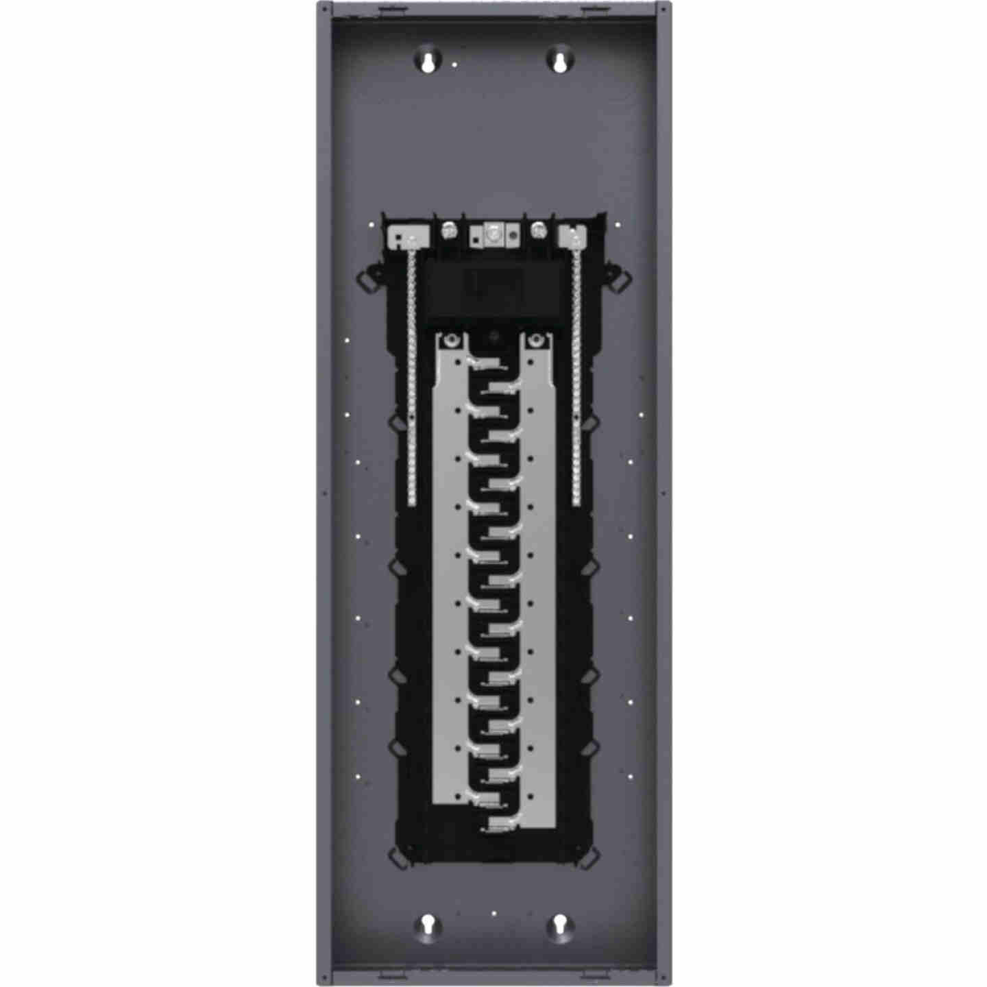 Square D Homeline 200A 40-Space 80-Pole Indoor Meter Breaker Panel Image 3