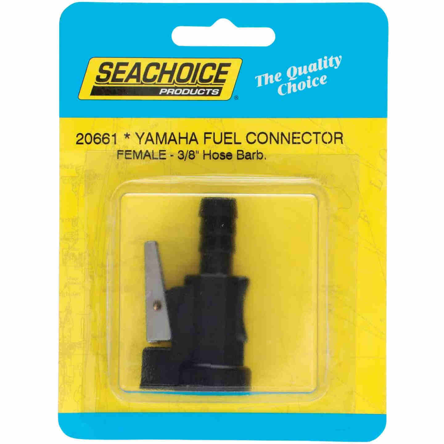 Seachoice 3/8 In. Female Hose Barb Yamaha/Mercury/Mariner Fuel Connector Image 1