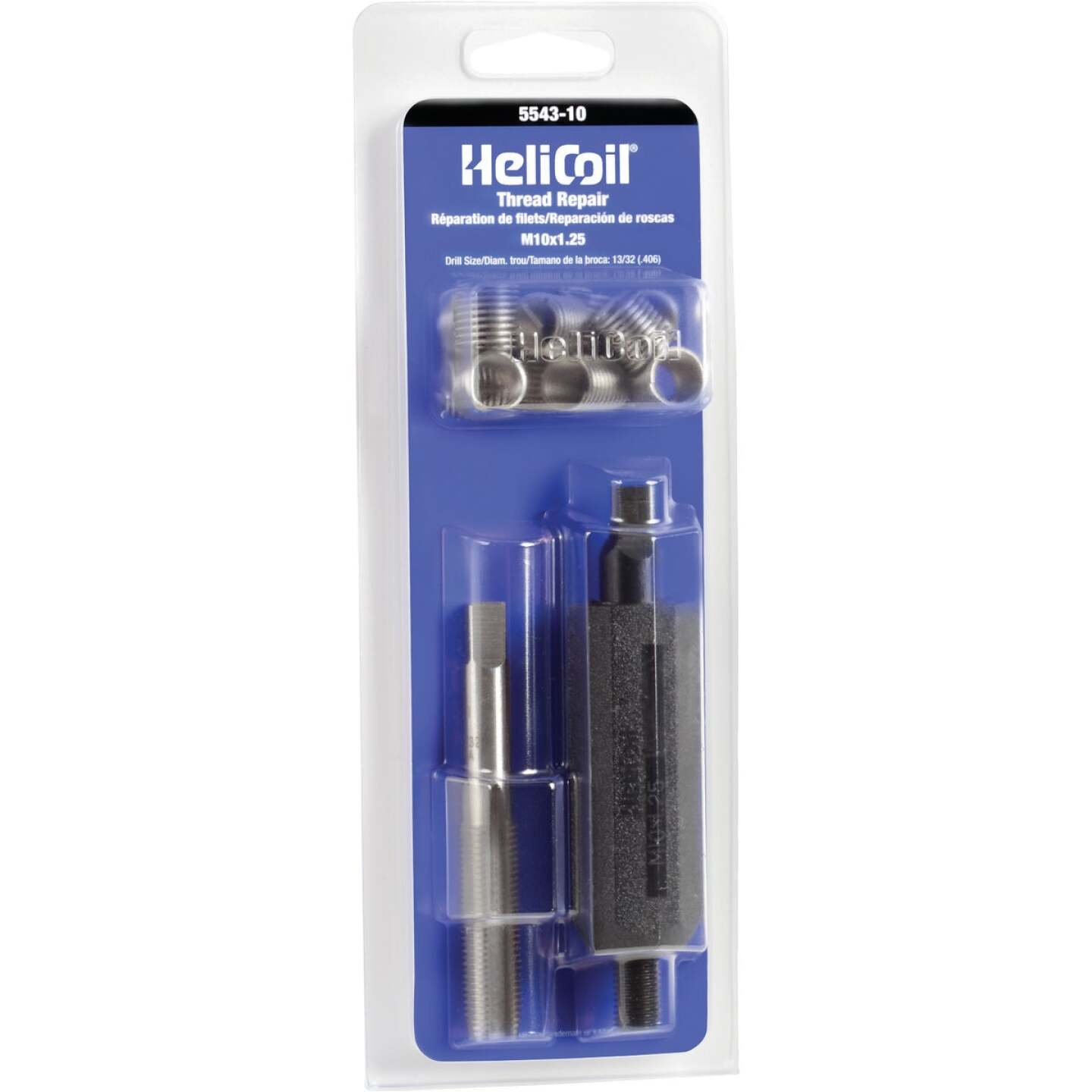 HeliCoil M10 x 1.25 Stainless Steel Thread Repair Kit Image 1