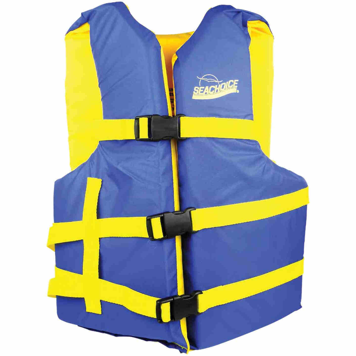 Seachoice Adult USCG Type III 90 Lb. and Up Adjustable Boating Life Vest Image 1