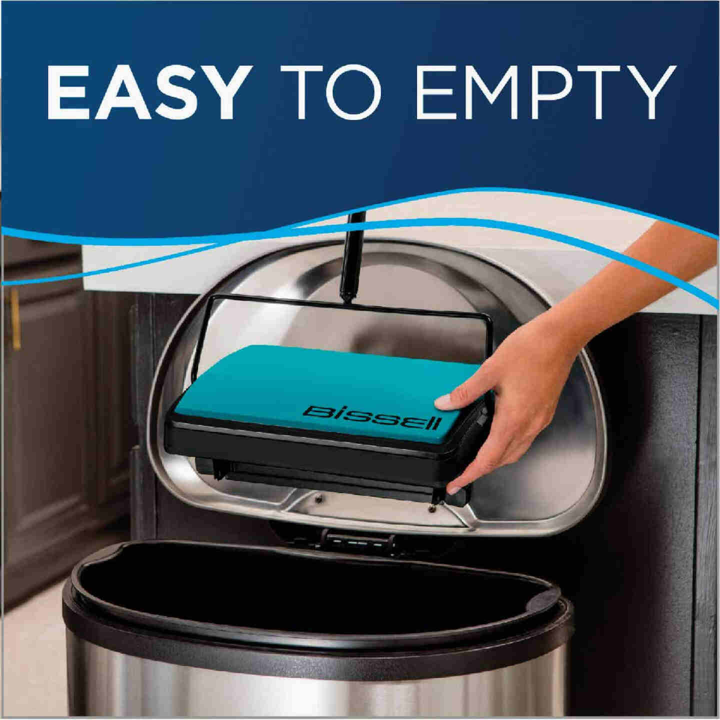 Bissell EasySweep Compact Manual Sweeper Image 4
