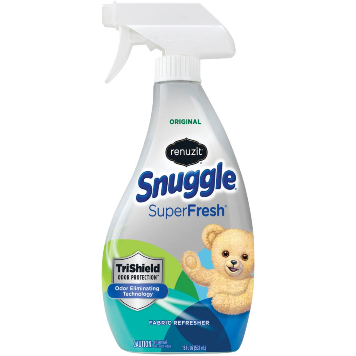 Renuzit Snuggle SuperFresh 18 Oz. Original Fabric Refresher Spray TriShield Odor Protection Image 1