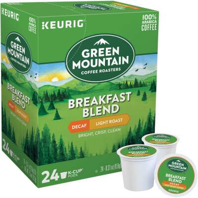 Keurig Green Mountain Coffee Roasters Breakfast Blend K-Cup (24-Pack)