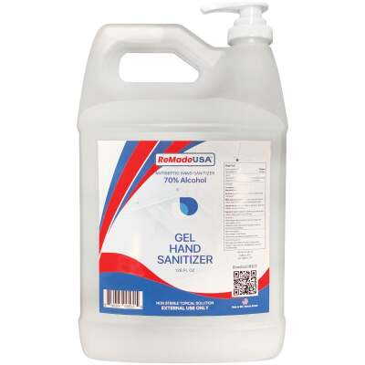 ReMadeUSA 1 Gal. 70% Scented Gel with Pump Top