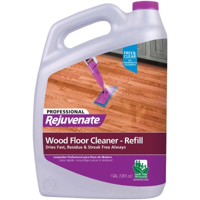 Rejuvenate 128 Oz. Professional Wood Floor Cleaner Refill