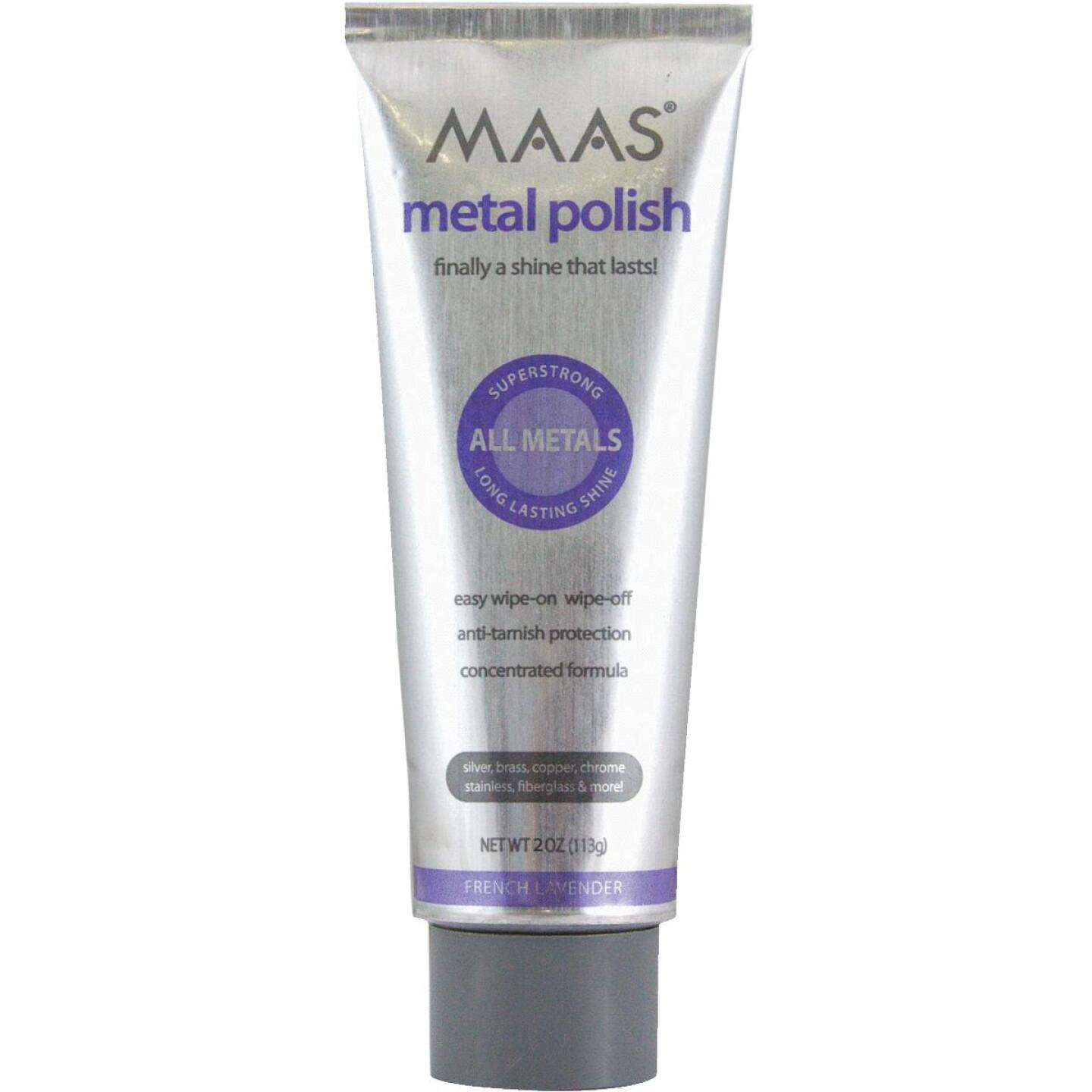 Maas 2 Oz. Polishing Creme For All Metals Image 1