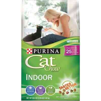 Purina Cat Chow Indoor Formula 3.15 Lb. Chicken Flavor Adult Dry Cat Food