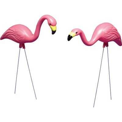 Bloem Pink Flamingo Lawn Ornament (2-Pack)