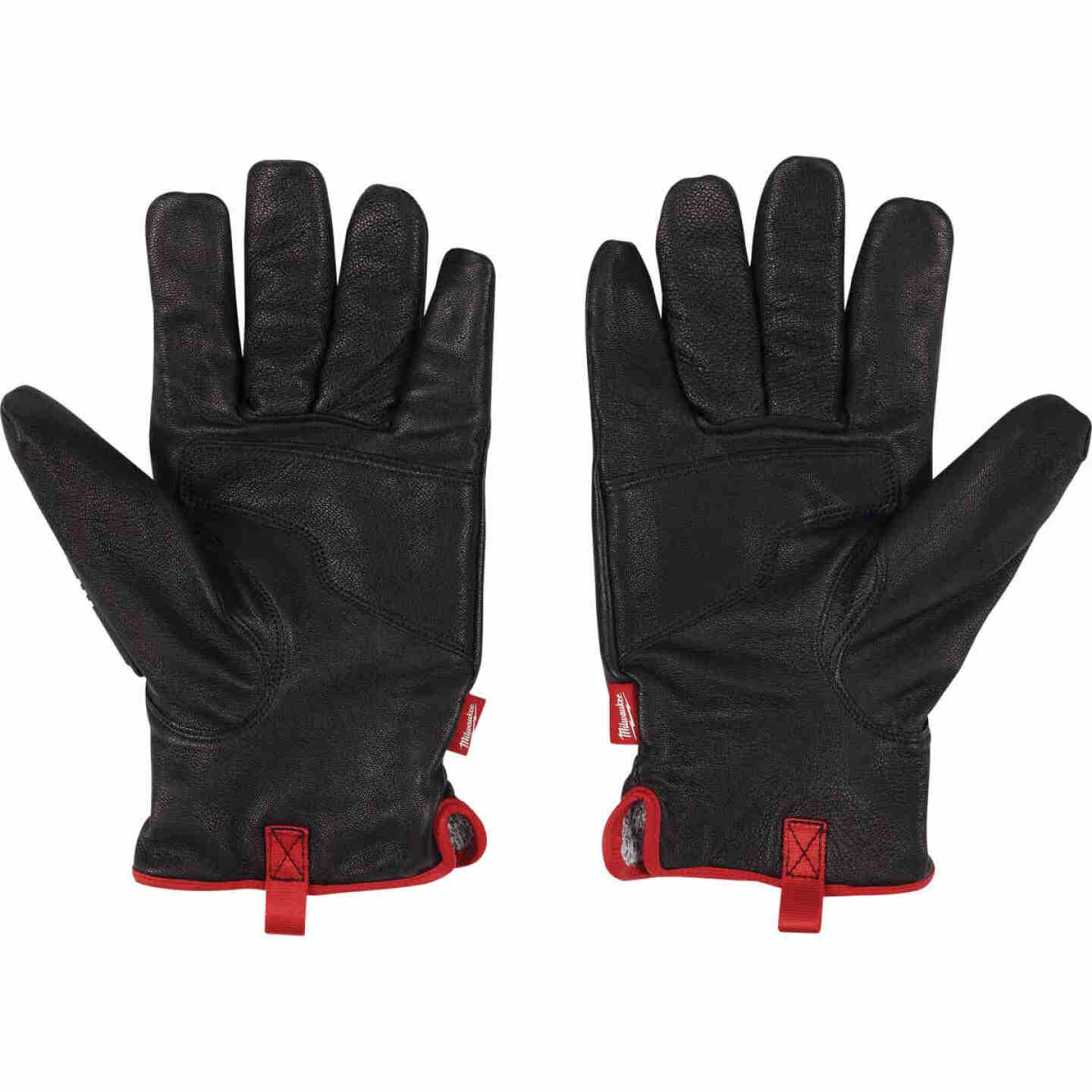 Milwaukee Impact Cut Level 5 Men's Large Goatskin Leather Work Gloves Image 1