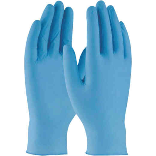West Chester Protective Gear Large Nitrile Industrial Grade Disposable Glove (100-Pack)