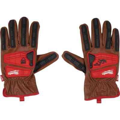Milwaukee Impact Cut Level 3 Men's Large Goatskin Leather Work Gloves