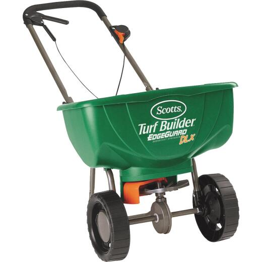 Scotts Turf Builder EdgeGuard DLX Broadcast Fertilizer Spreader
