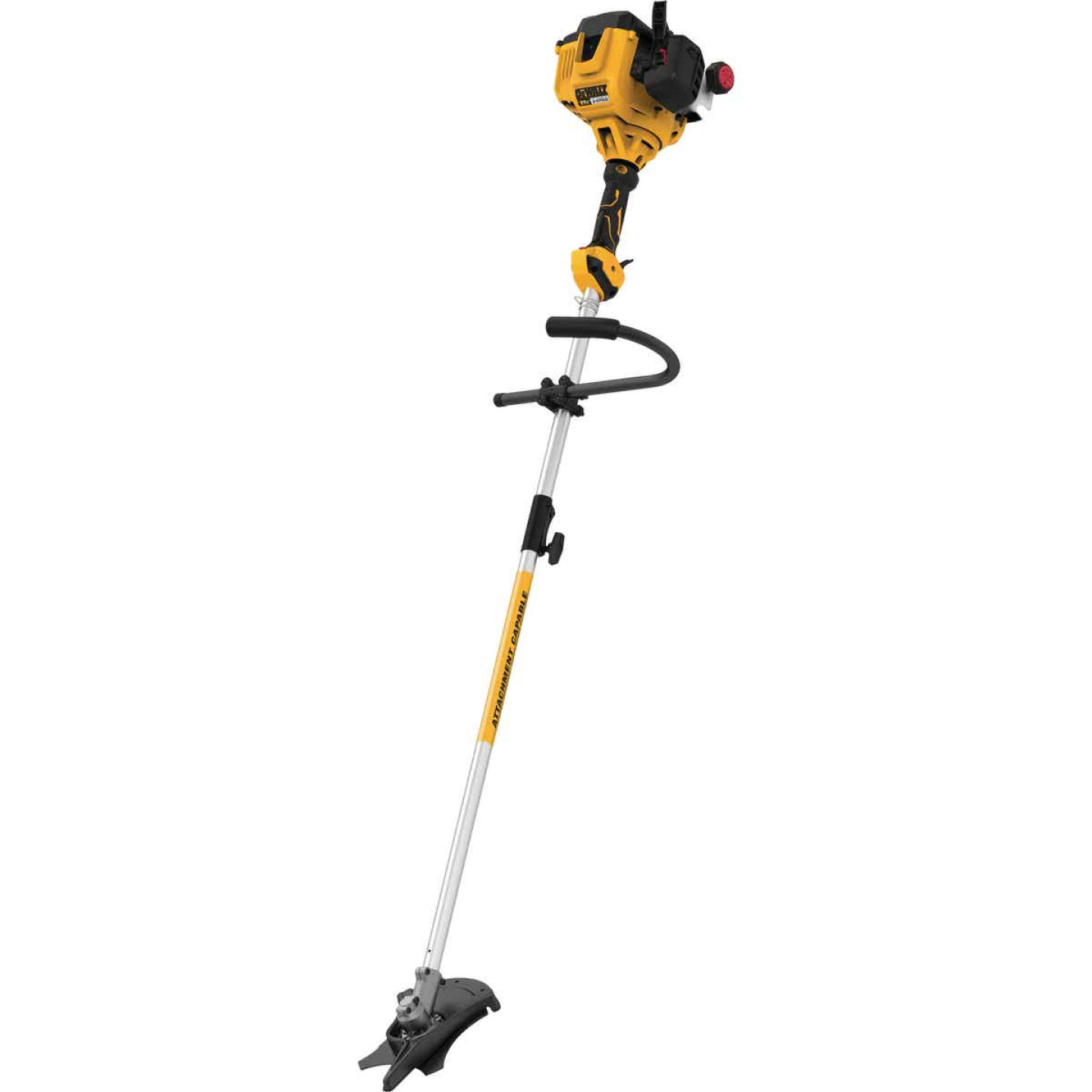 DeWalt Trimmer Plus 8 In. 27cc 2-Cycle Straight Shaft Brushcutter Trimmer Image 1