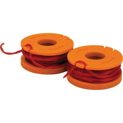 Worx 0.065 In. x (2) 10 Ft. Trimmer Line Spool (2-Pack)