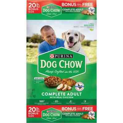 Purina Dog Chow 20 Lb. Chicken Flavor Dry Dog Food