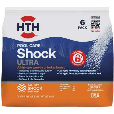 HTH 1 Lb. Ultimate 7-in-1 Shock Granule (6-Pack)