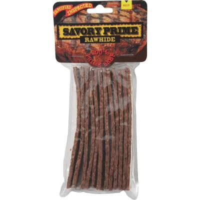 Savory Prime Beef Strips 5 In. Rawhide Chew, (12-Pack)
