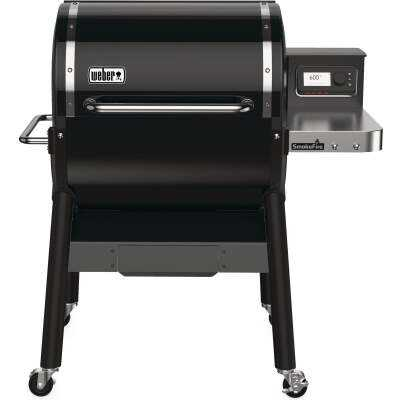Weber SmokeFire EX4 Black 672 Sq. In. Wood Pellet Grill