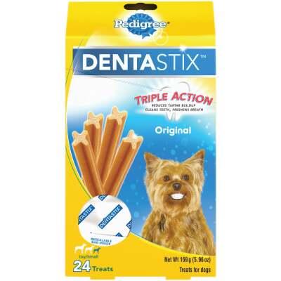 Pedigree Dentastix Toy Dog Original Flavor Dental Dog Treat (24-Pack)