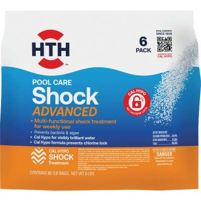 HTH 1 Lb. Super Shock Granule (6-Pack)