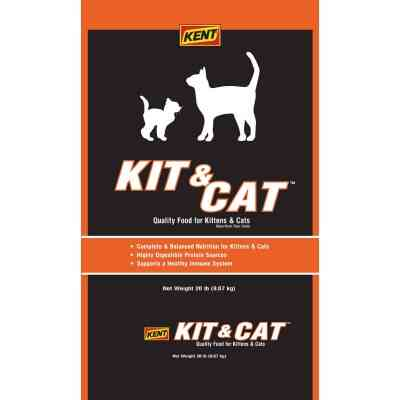 Kent Kit & Cat 20 Lb. All Ages Dry Cat Food