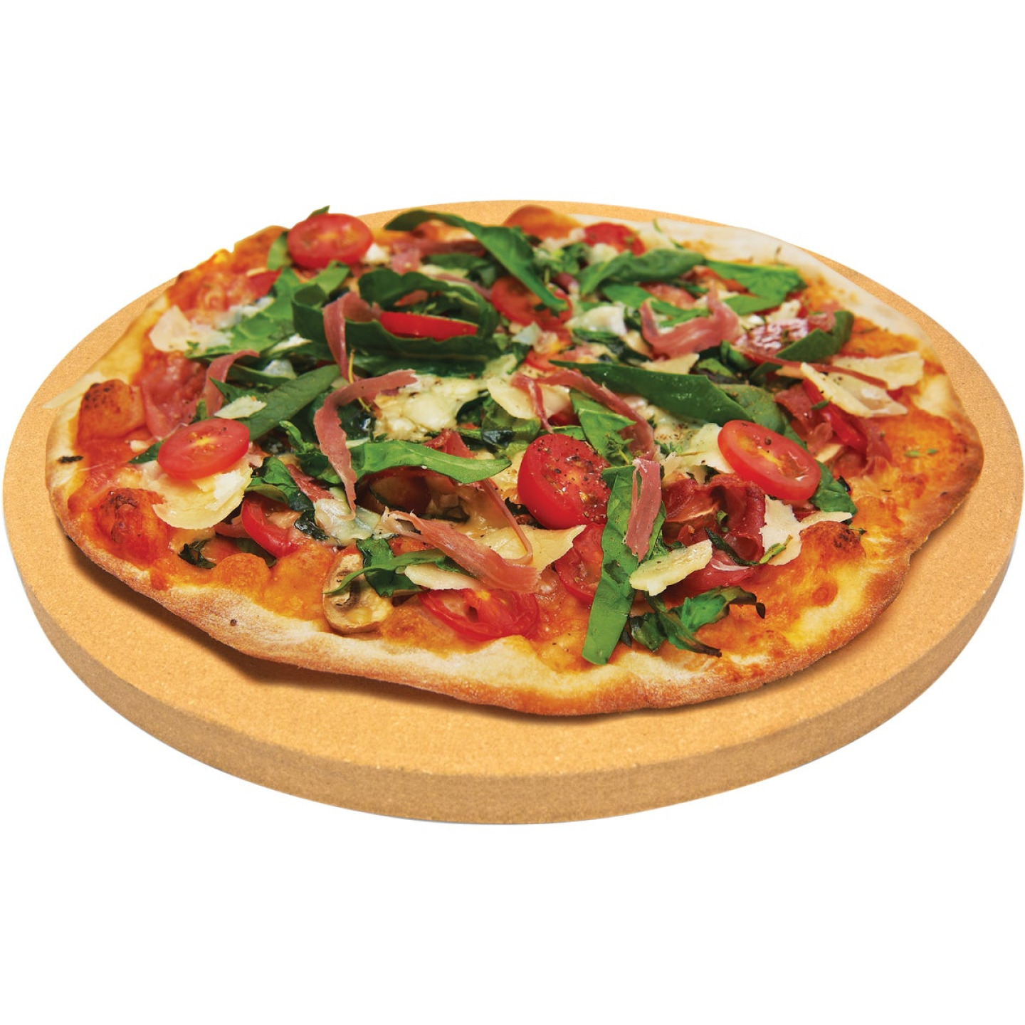 Broil King 15 In. Ceramic Composite Extra Thick Grilling Pizza Stone Image 3