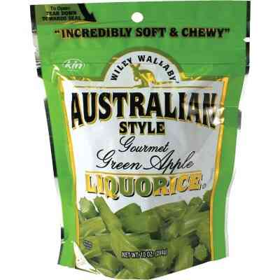 Wiley Wallaby Green Apple Liquorice 10 Oz. Candy