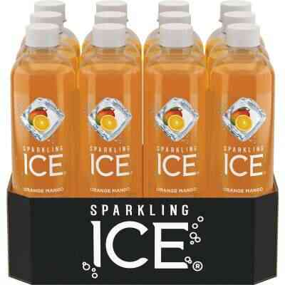 Talking Rain Sparkling Ice 17 Oz. Water, Orange Mango